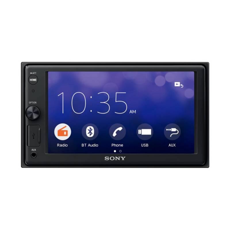 SONY - Radio para auto con pantalla táctil XAV 1500