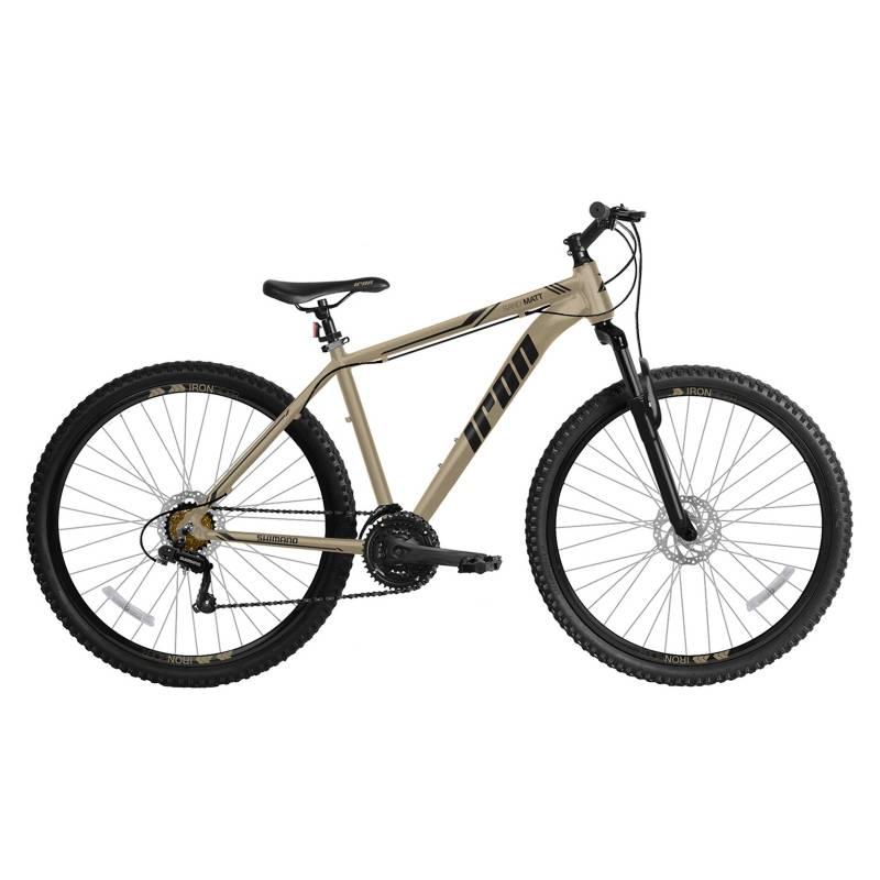 IRON - Bicicleta Montañera Iron Sand Matt Aro 29