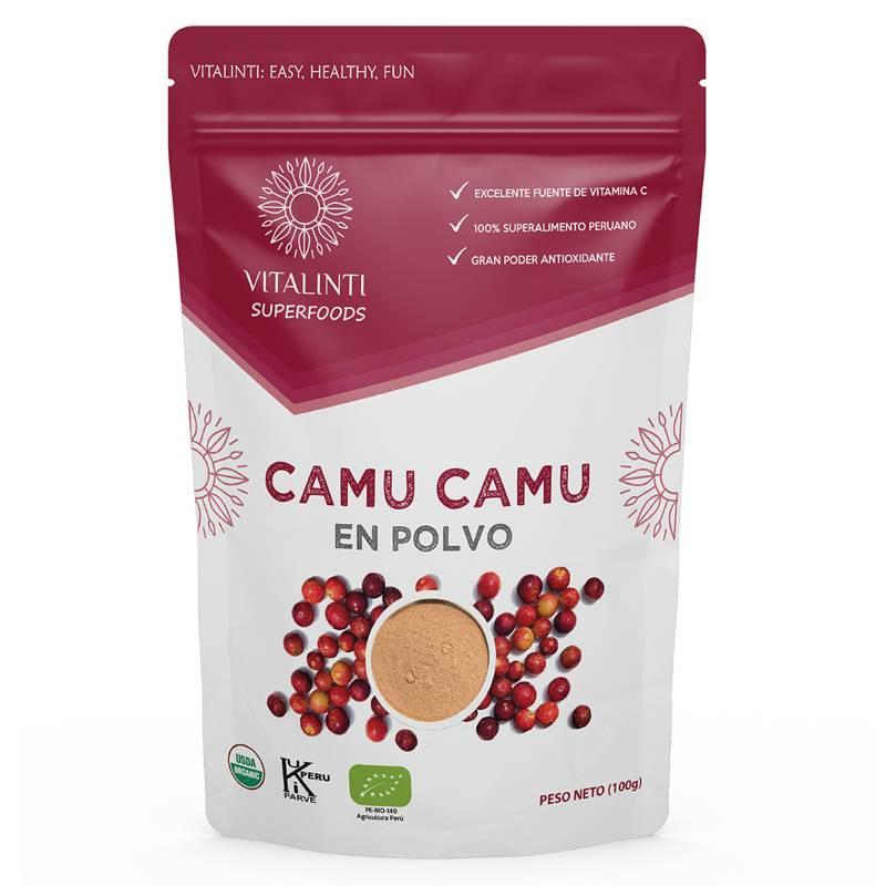 VITALINTI - Camu Camu en Polvo Orgánico 100gr