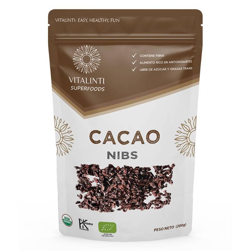 VITALINTI - Cacao Nibs Orgánico 200gr