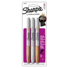 SHARPIE - Marcadores Permanentes Metálicos x 3