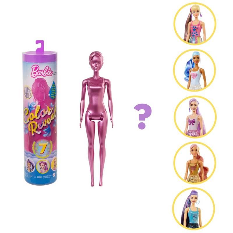 BARBIE - Barbie Fashionista Color Reveal Brillante
