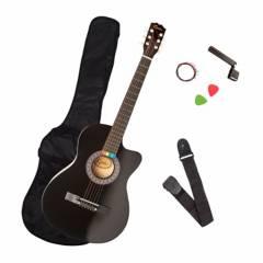 EPIC - Guitarra Cutaway Negra