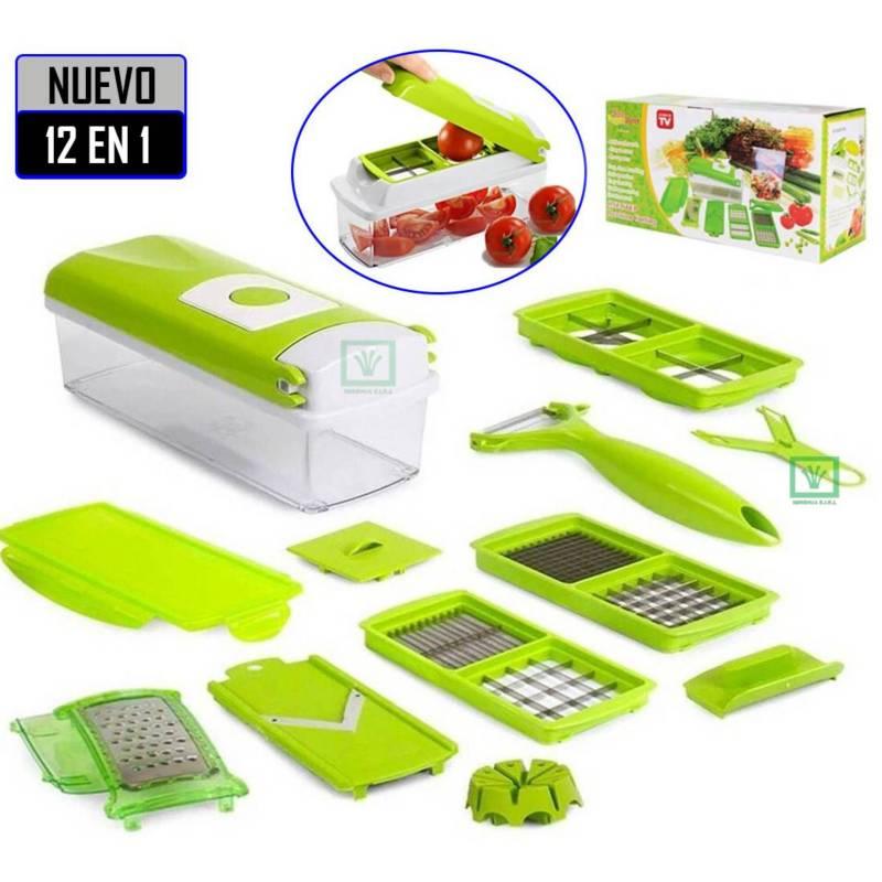 GENERICO - Picador Rallador de Frutas y Verduras Picatodo