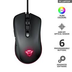 TRUST - Mouse Gamer Rgb Jacx