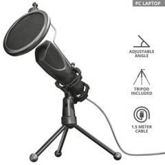 TRUST - Micrófono Streaming Usb Mantis