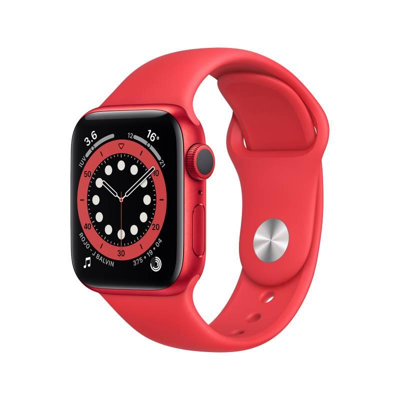 APPLE - Apple Watch Series 6 (GPS) - Caja de aluminio (PRODUCT) RED  40 mm - Correa deportiva (PRODUCT) RED