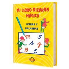 LEXUS - Mi Libro Pizarra Mágica Letras y Palabras