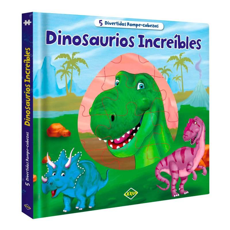 LEXUS - Dinosaurios Increíbles Rompecabezas