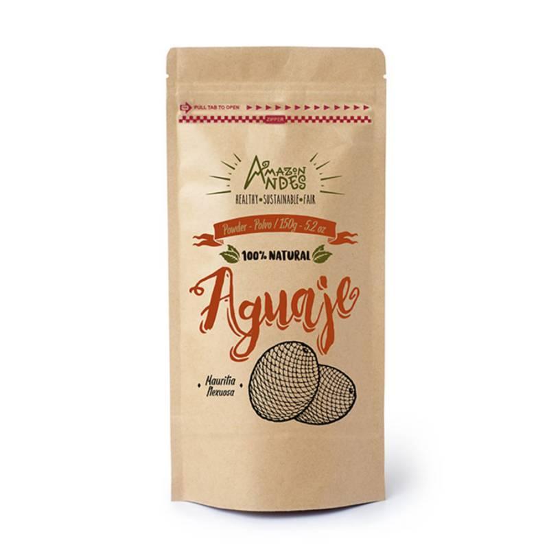 AMAZON ANDES - Aguaje Orgánico en polvo 150gr