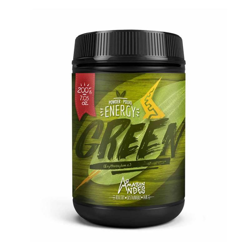 AMAZON ANDES - Coca Orgánica en polvo 200gr