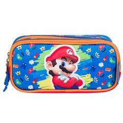 NINTENDO - Cartuchera Super Mario Bros
