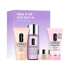 CLINIQUE - Set Take it off and turn in