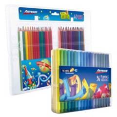 ARTESCO - Pack Colores y Plumones x 96
