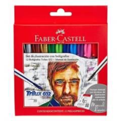 FABER CASTELL - Set De Ilustración Con Bolígrafos