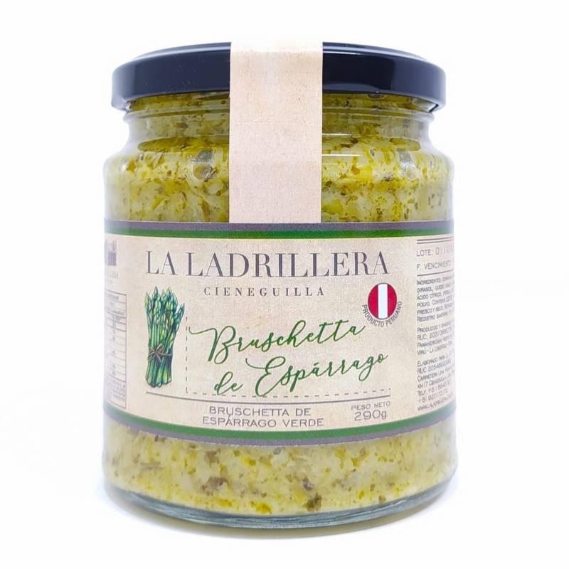 LA LADRILLERA - Bruschetta de espárrago verde 290gr