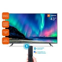 "XIAOMI - TELEVISOR LED SMART TV XIAOMI 43"" 4K HDR AndroidTV, 3 HDMI, 3 USB, DOLBY, DTS"