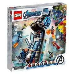 LEGO - Lego 76166 Batalla en La Torre de Los Vengadores