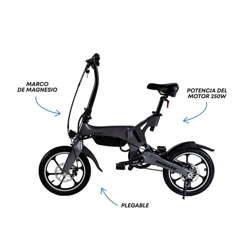 Monark - Bicicleta Eléctricar Aro 16'
