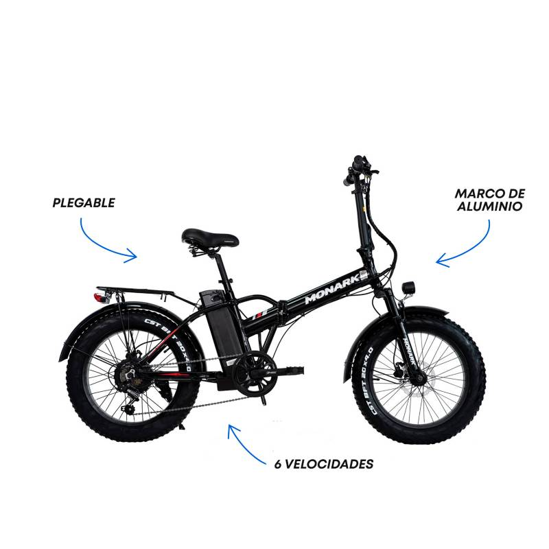 "Monark - Bicicleta Eléctrica E-Motion AL Aro 20"" Unisex"