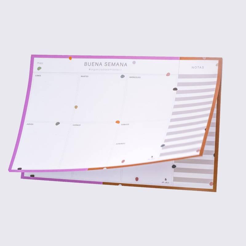 ALE ALALU - Planner semanal Dots