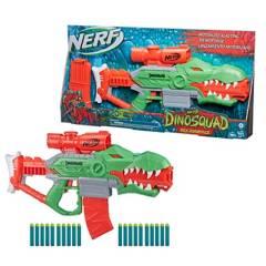 NERF - Lanzador Nerf DinoSquad Motorizado Rex-Rampage