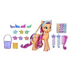MY LITTLE PONY - Muñeca Pony Sunny Starscout Peinados Mágicos