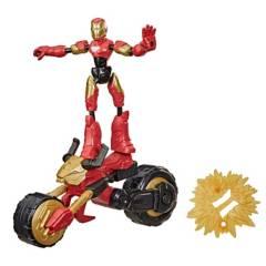AVENGERS - Figura Iron Man Flex Rider