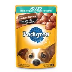 PEDIGREE - Alimento Pedigree Pouch Razas Pequeña Cordero 100gr