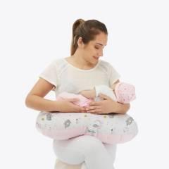 MATERNELLE - Almohada Lactancia 5 en 1 Rosa Elefante