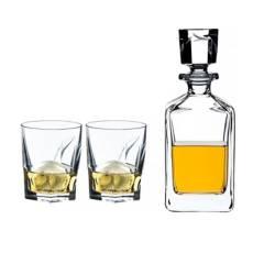RIEDEL - Louis Whisky Set 3 pzs (1 decanter+2 vasos OF)