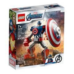 LEGO - Armadura Robótica Del Capitán América