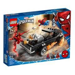 LEGO - Spider-Man y El Motorista Fantasma VS Carnage