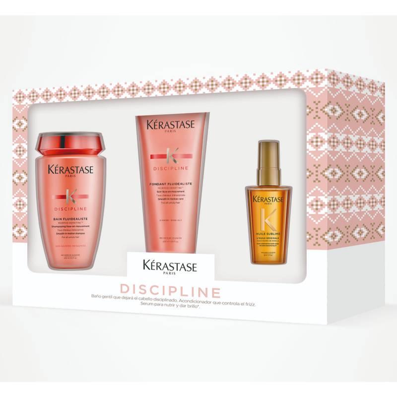 KERASTASE - Pack Discipline Para Cabello Con Frizz (Shampoo + Acondicionador)