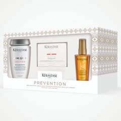 KERASTASE - Pack Prevention + Nutritive Para Control De Caída Del Cabello Seco