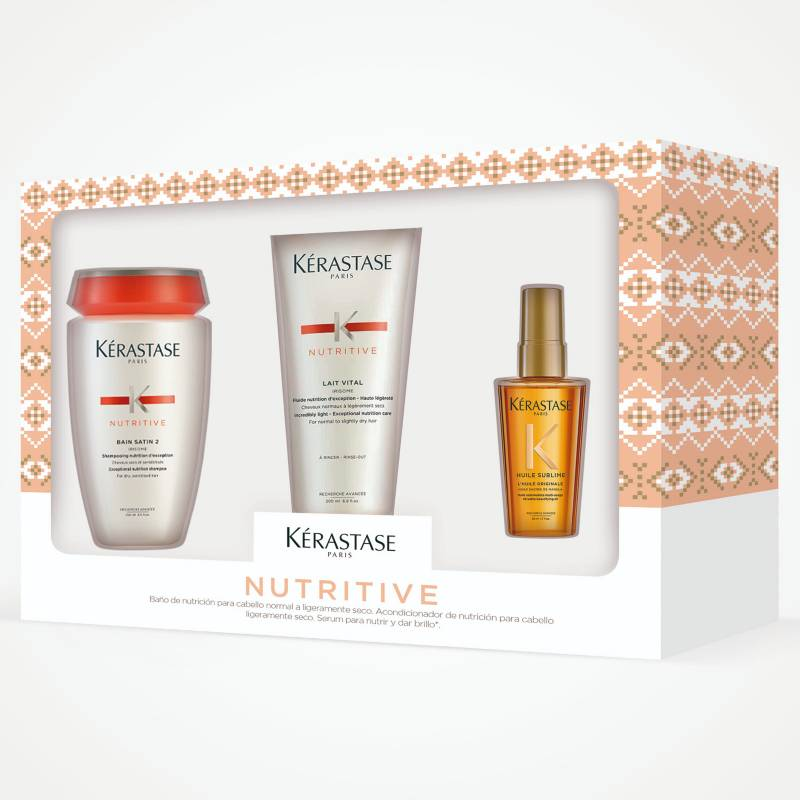 KERASTASE - Pack Nutritive Para Cabello Seco (Shampoo + Acondicionador)