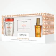 KERASTASE - Pack Nutritive Para Cabello Seco y Dañado (Shampoo + Mascarilla)
