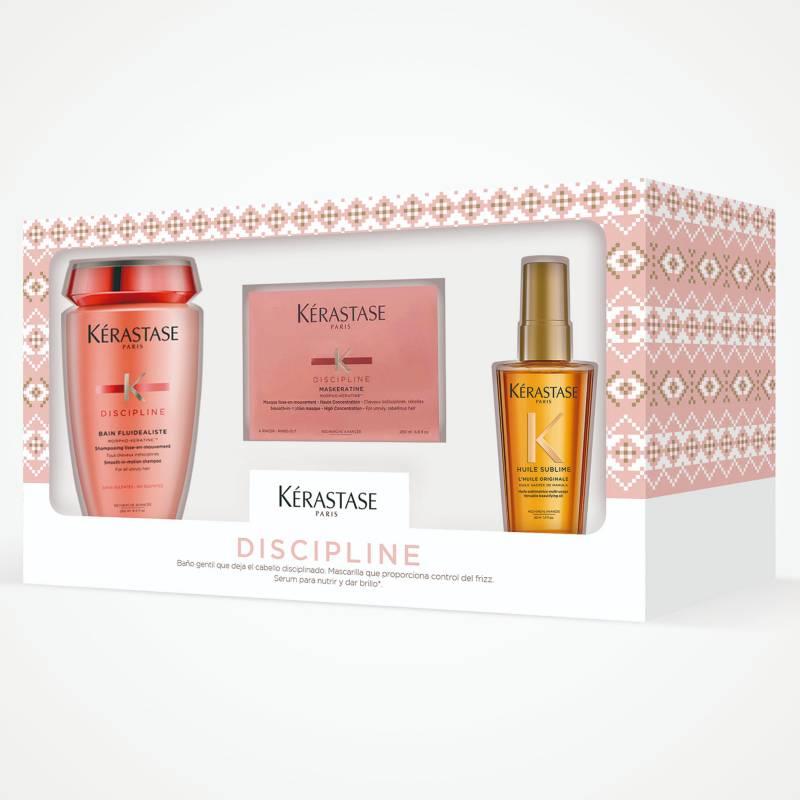 KERASTASE - Pack Discipline Para Cabello Con Frizz (Shampoo + Mascarilla)