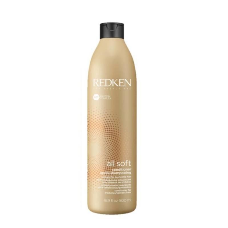 REDKEN - Shampoo All Soft Para Cabello Seco 500 Ml