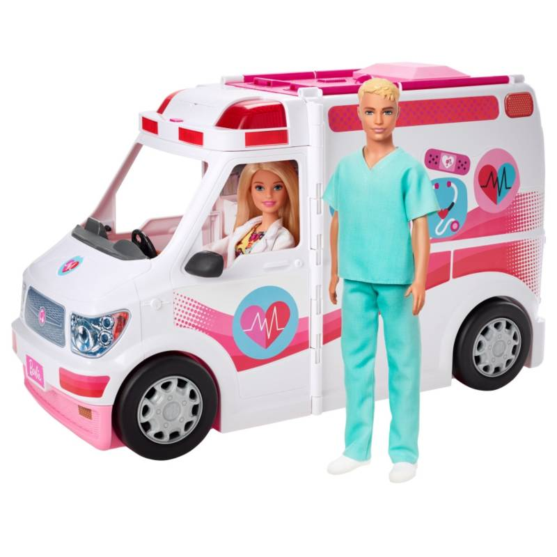 BARBIE - Set Hospital Móvil Doctor + Enfermera
