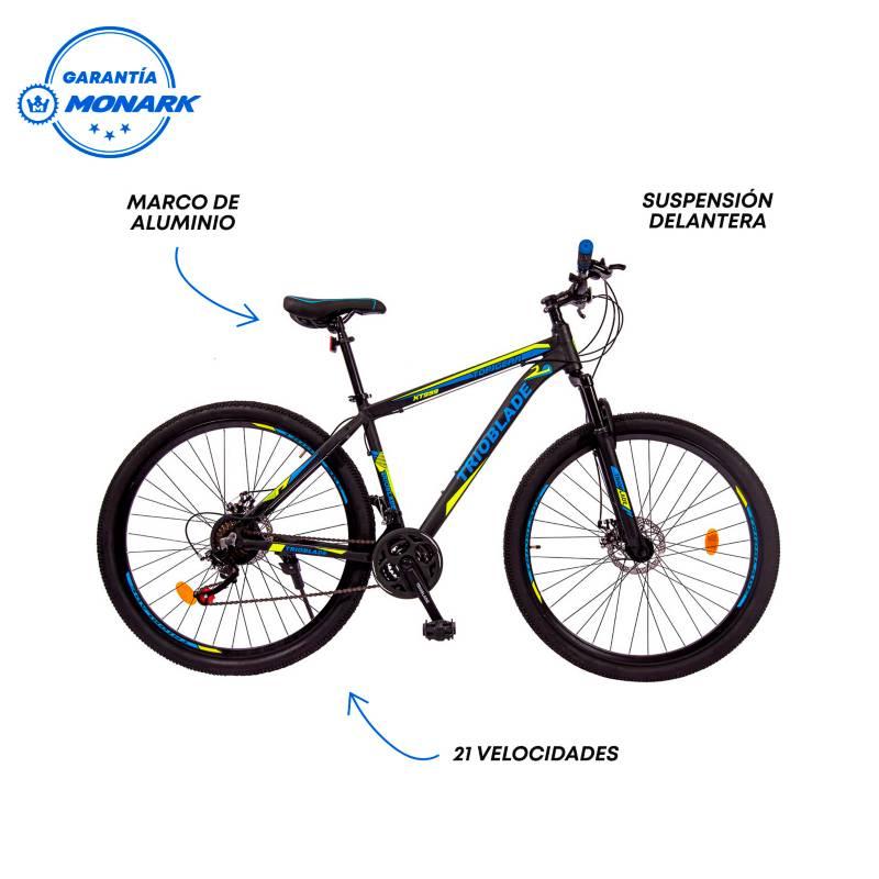 MONARETTE - Bicicleta Trioblade Aro 29' Negro