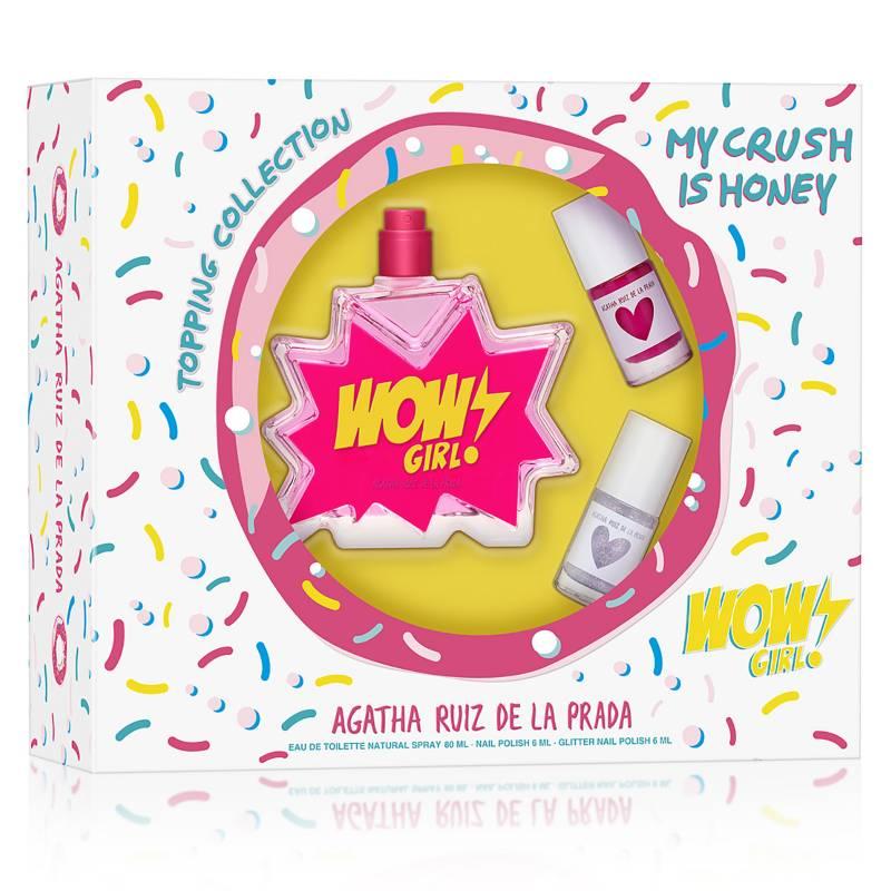 AGATHA RUIZ DE LA PRADA - Set Agatha Ruiz de la Prada Wow Girl EDT 80 ml + 2 Esmaltes de uñas