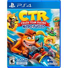 SONY - Crash team racing nitro fueled ps4
