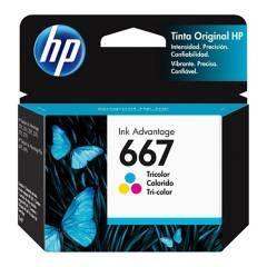 HP - Cartucho De Tinta HP 667 Negra Original