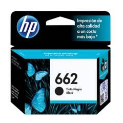 HP - Cartucho De Tinta HP 662 Negra Original