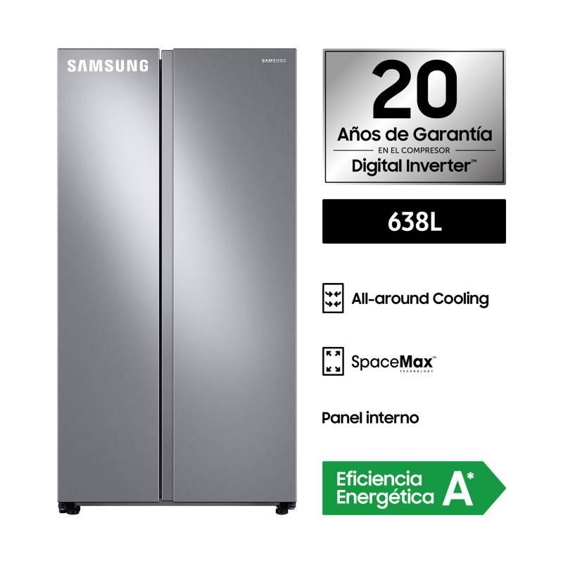 SAMSUNG - Refrigeradora SBS 638L RS64T5B00S9/PE