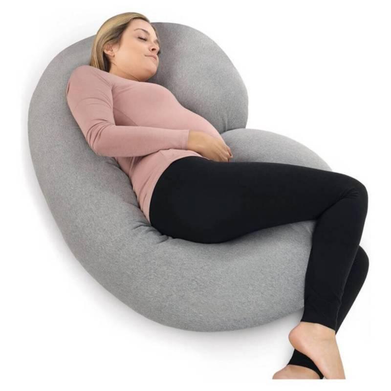 BABY FEES - Almohada para embarazo Gris