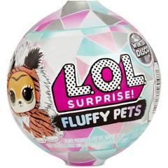 LOL - Muñeca Sorpresa Fluffy Pets Winter  Disco