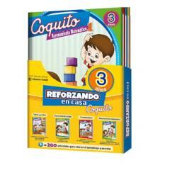 COQUITO - Pack Reforzando en Casa 3 Años