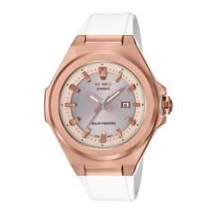 CASIO - Reloj BABY-G MSG-S500G-7A2 Resina/Acero Mujer Oro Rosa